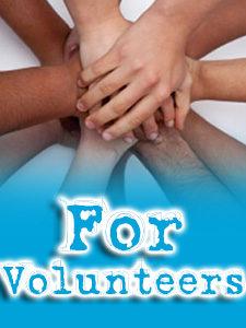 for-volunteers